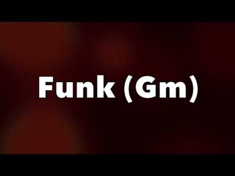 Jazz Funk Backing Track (Gm)