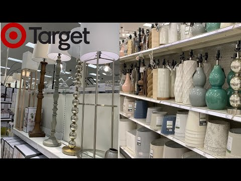 Target Floor Lamps Table Lamps Home Decor | Shop With Me Spring 2019