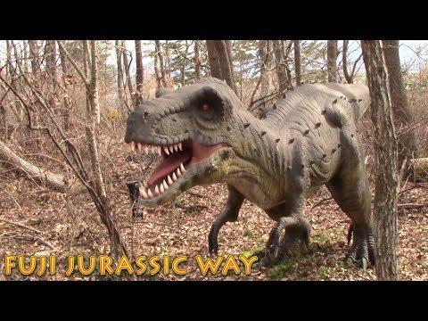 恐竜好きな兄弟が恐竜を見ると・・・恐竜富士ジュラシックウェイ へ行ってきました FUJI JURASSIC WAY