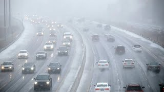 Freezing Rain Causes Crashes Cancellations Around Toronto