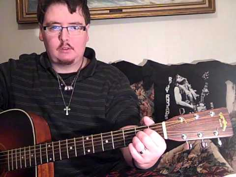 me showing you HOW TO PLAY 'LIVIN' ON LOVE' by ALAN JACKSON on ACOUSTIC GUITAR