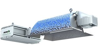 nanolux super de 600w hps mh de double ended fixture