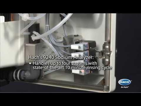Hach 9240 Sodium Analyzer