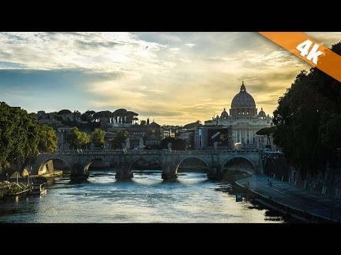 Rome - The Eternal City in 4K!
