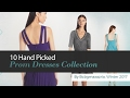 10 Hand Picked Prom Dresses Collection By Bcbgmaxazria, Winter 2017