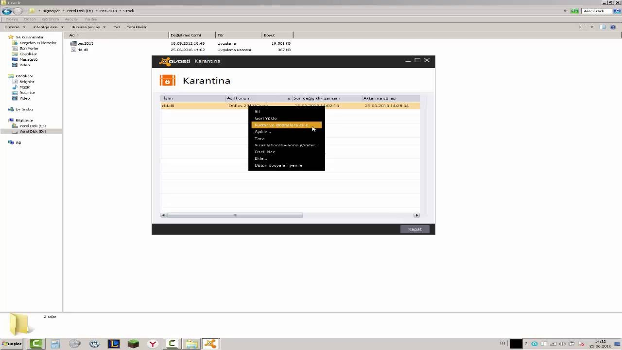 download rld.dll pes 2013 (disable antivirus)