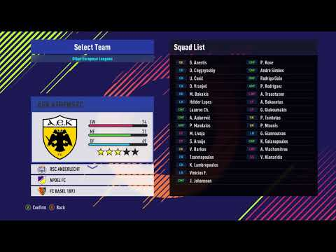 PES 2018 Option File AIO Update 17.11.2017 by Kilay
