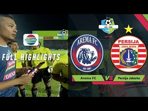 Arema FC (1) vs Persija Jakarta (1) - Full Highlights | Go-Jek Liga 1 Bersama BukaLapak