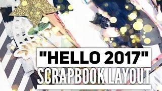 12x12 Scrapbook Layout   Process ✂️