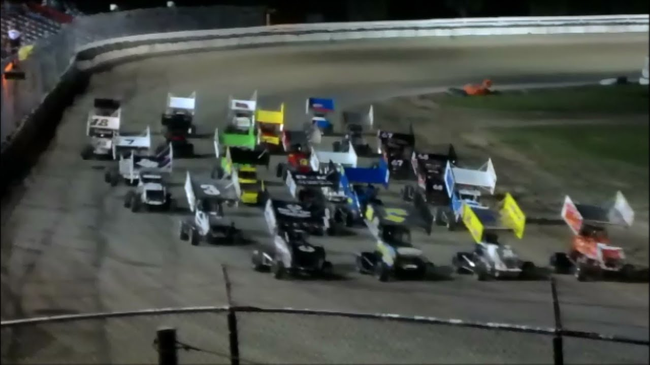 Bubba Raceway Park >> Racing Sprints Feature Race At Bubba Raceway Park 4 13 13