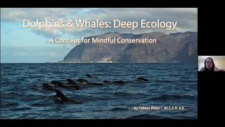 W&D  Deep Ecology   A concept for MINDFUL conservation Presented by Fabian Ritter
