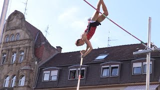Stabhochsprung - Meeting in Landau 2017 HD