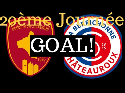Rodez Chateauroux Goals And Highlights