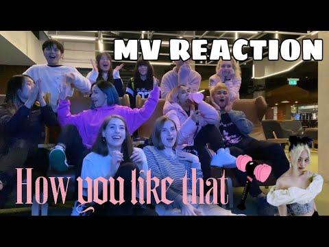BLACKPINK (블랙핑크) - How You Like That MV REACTION by ABK CREW from Australia