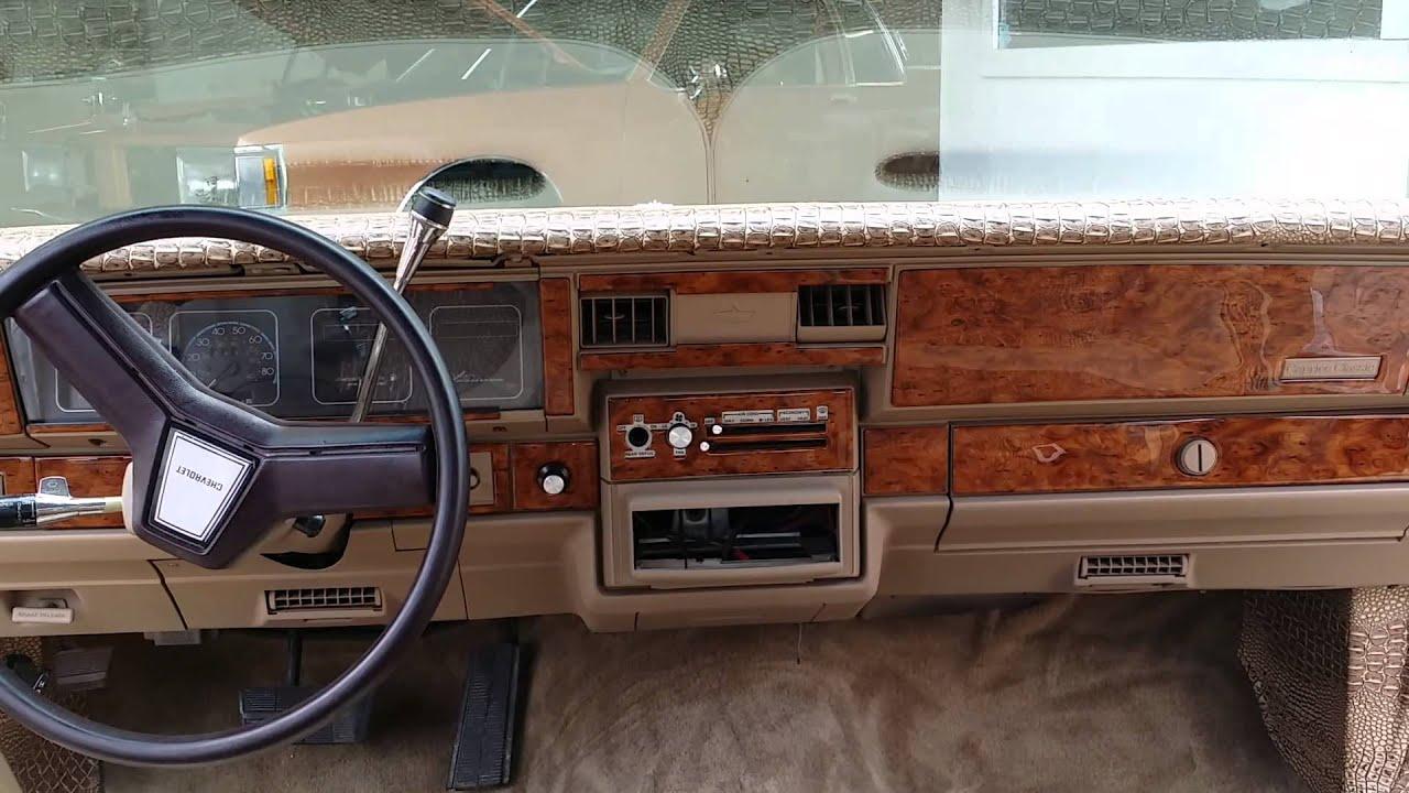 Chevy caprice wood grain youtube - Custom box chevy caprice interior ...
