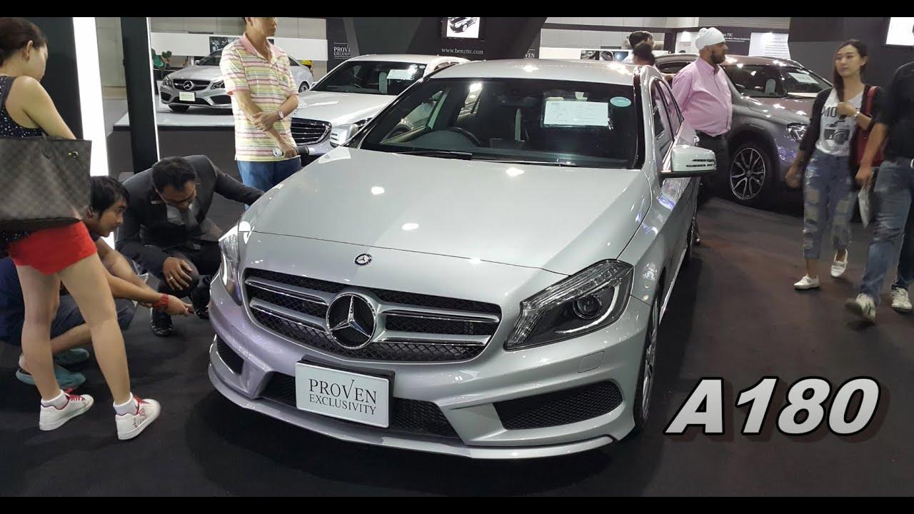 Mercedes benz motor expo 2015 thailand a180 c200 c300 for Mercedes benz thailand