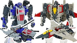 Transformers Movie Bumblebee VS Dropkick & Blitzwing! #DuDuPopTOY