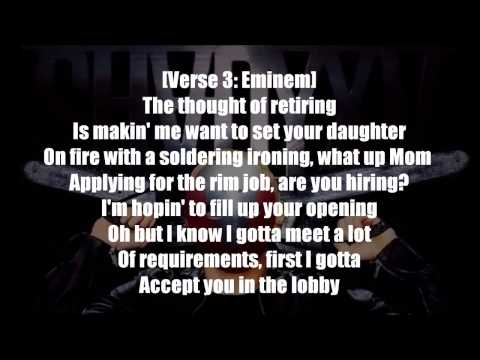 Eminem - Psychopath Killer ft.  Slaughterhouse & Yelawolf Lyrics