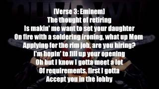 Download lagu Eminem - Psychopath Killer ft.  Slaughterhouse & Yelawolf Lyrics