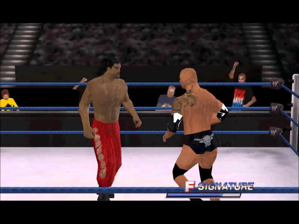 WWE 2K14 PSP GamePlay - YouTube