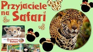 Przyjaciele na Safari #42 • Disney • Gepardzica Hania • Encyklopedia zwierząt z zabawkami