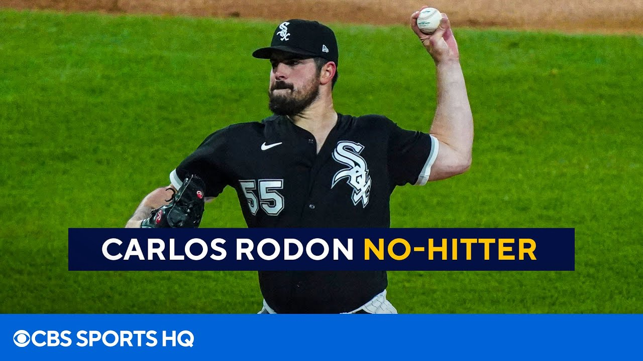 White Sox's Carlos Rodon throws no-hitter