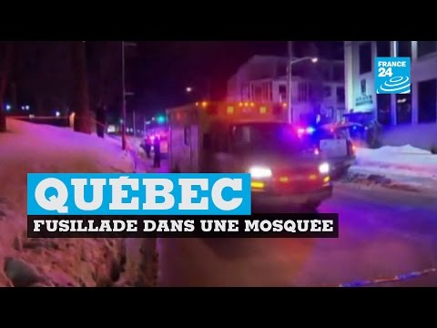 Québec : une fusillade dans une mosquée fait 6 morts