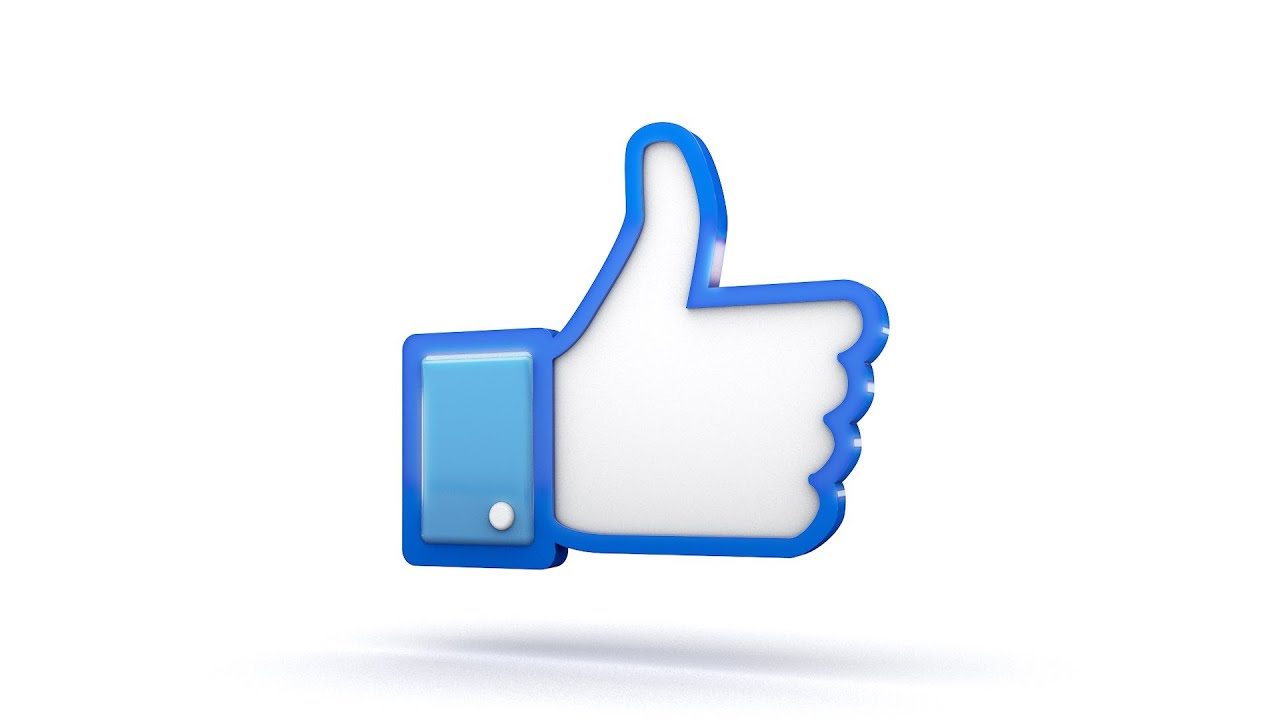 Facebook 3d thumbs up like icon youtube biocorpaavc Gallery