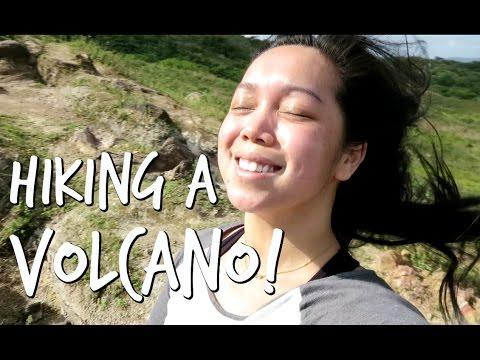 HIKING UP A VOLCANO! - January 17, 2017 -  ItsJudysLife Vlogs