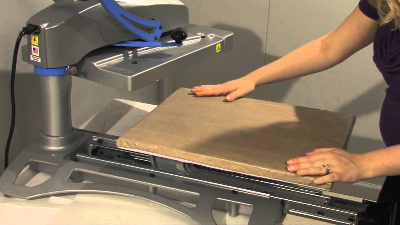 clean the heat press