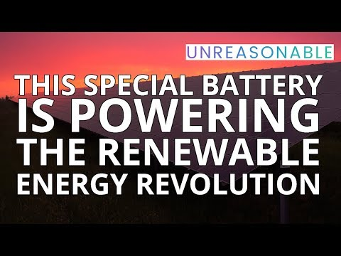 This Special Battery is Powering The Renewable Energy Revolution   Catherine Von Burg