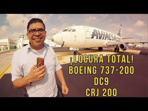 ¡LOCURA TOTAL EN CANCÚN! - Boeing 737-200, Bombardier CRJ200, DC9, etc. (#149)