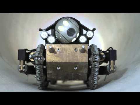 PureRobotics - Next Generation Robotic Pipeline Inspection Crawler