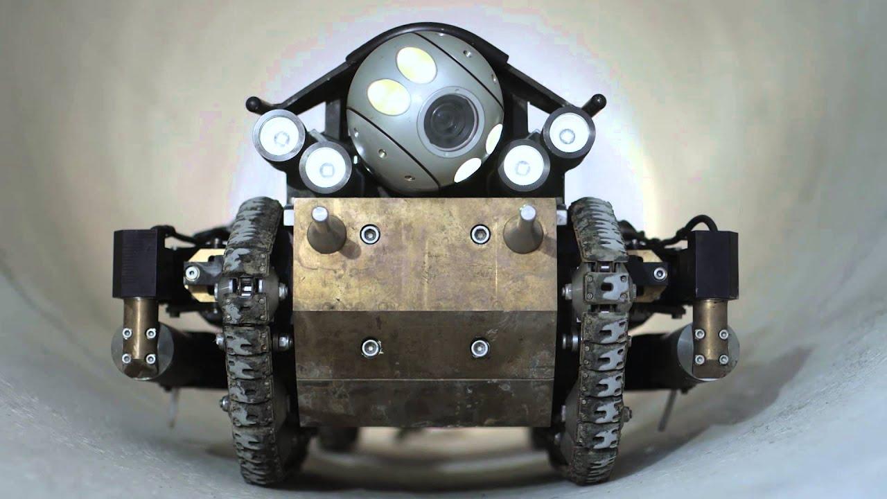 PureRobotics - Next Generation Robotic Pipeline Inspection Crawler - YouTube