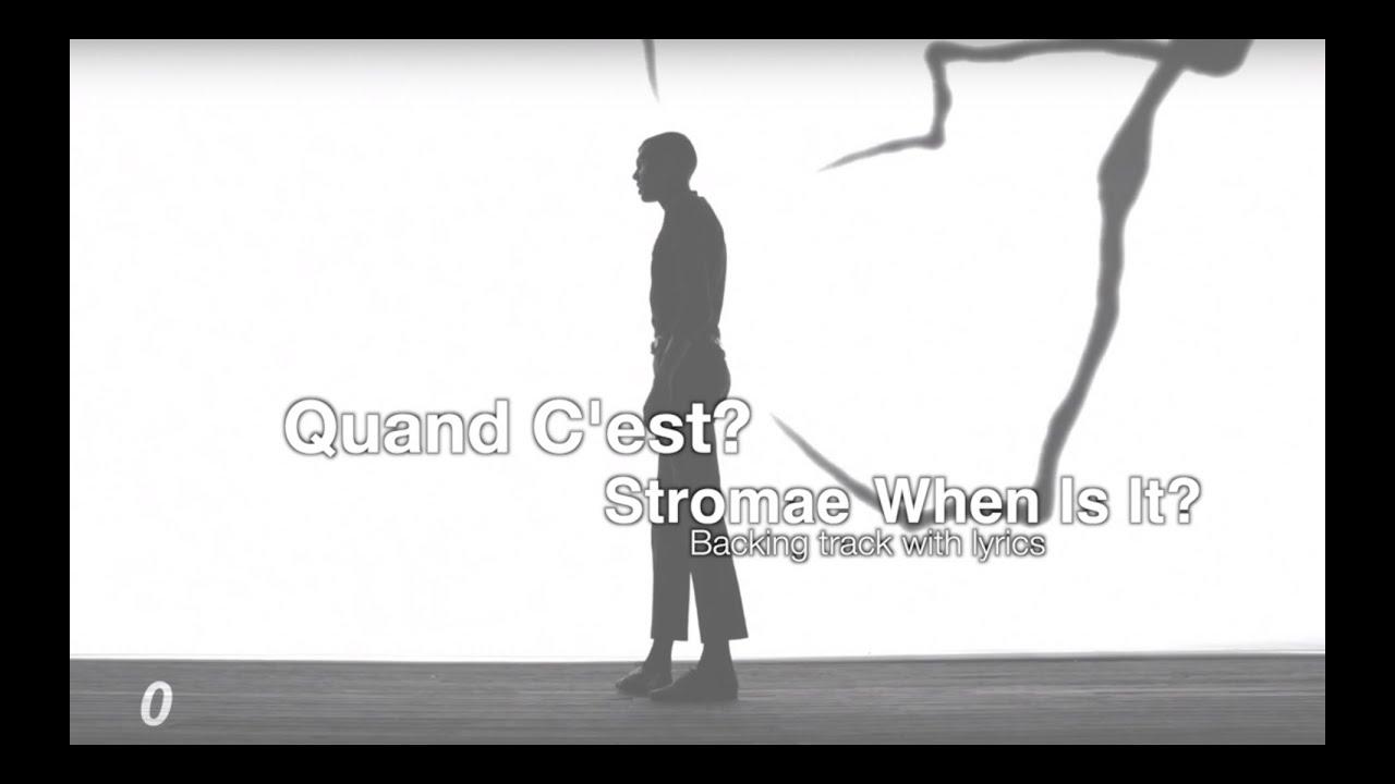stromae quand c 39 est instrumental lyrics youtube. Black Bedroom Furniture Sets. Home Design Ideas