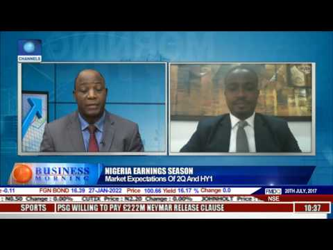 Business Morning: Nigeria's Earnings Outlook In Focus Pt 1