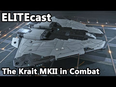 Using the Krait for combat in this week's ELITEcast – The