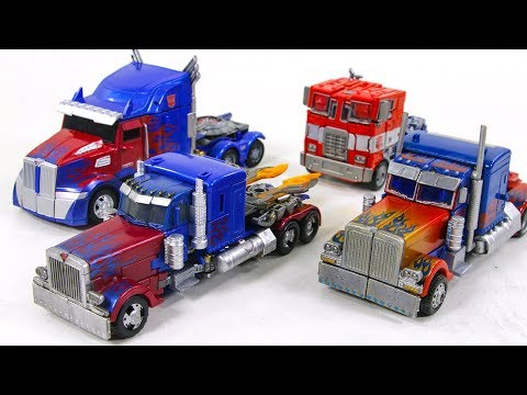 Transformers Movie SS ROTF AOE TLK Repaint Voyager OPTIMUS PRIME Compare Truck Vehicle Car Robot Toy