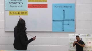 Secundaria clase: 123 Tema: Distancia entre dos puntos