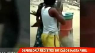 DEFENSORÍA REGISTRÓ 997 CASOS HASTA ABRIL