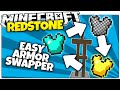Minecraft | Three Way Armor Stand Swapper | Easy To Make (Minecraft Survival Redstone)