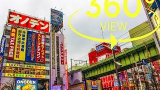 [360° Video]Akihabara Tokyo / 秋葉原 東京(Kodak PIXPRO SP360 4K)