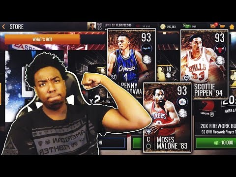 HOW TO GET A 93 OVR FIREWORKS MASTER WITHOUT SPENDING MONEY IN NBA LIVE MOBILE 19!!!