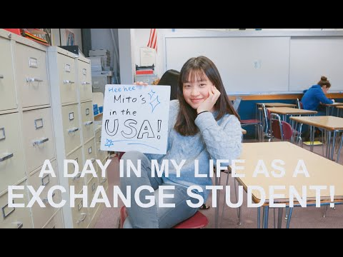 A Day in My Life as an exchange student: School life in America!