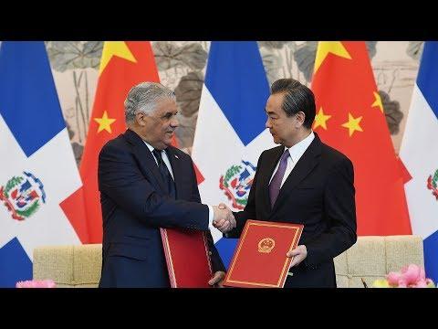 China, Dominican Republic establish bilateral ties
