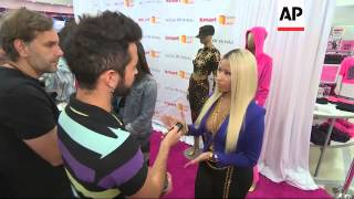 Nicki Minaj launches clothing line for Kmart stores