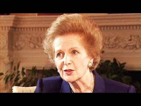 Margaret Thatcher on rising to power, and resigning from it