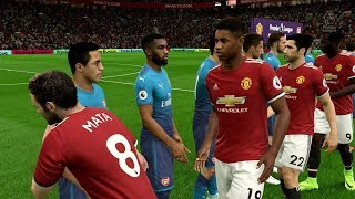 Fifa 18 | manchester united vs arsenal - full gameplay (ps4/xbox one)