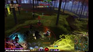 Guild Wars 2 Path of Fire - Fresh Air Scepter Weaver Guild: Black T...