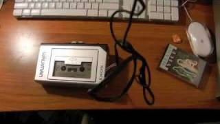 Sony Walkman WM-1 (From 1981) Portable Cassette Player Unboxing